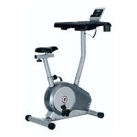 Bicicleta fitness cu suport de laptop DHS8508
